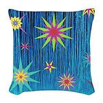 StarBurst Woven Throw Pillow