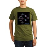 LGBT Military Pride Organic Men's T-Shirt (dark)