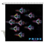 LGBT Military Pride Shower Curtain