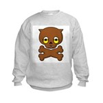 Werewolf Puppy Kids Sweatshirt
