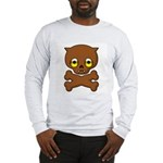 Werewolf Puppy Shirt (Grey LS) M