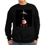 Leather Top Man Sweatshirt (dark)