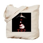 Leather Top Man Tote Bag