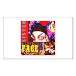 Drag Diva HRHSF Designs Sticker (Rectangle)