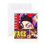Drag Diva HRHSF Designs Greeting Card
