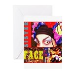Drag Diva HRHSF Designs Greeting Cards (Pk of 20)