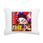 Drag Diva HRHSF Designs Rectangular Canvas Pillow