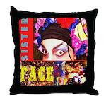 Drag Diva HRHSF Designs Throw Pillow