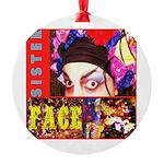 Drag Diva HRHSF Designs Round Ornament