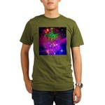 Mystic Skeletal Soul Organic Men's T-Shirt (dark)