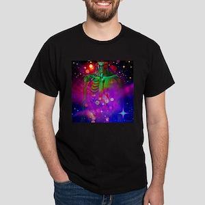 Mystic Skeletal Soul Dark T-Shirt