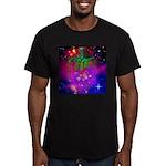 Mystic Skeletal Soul Men's Fitted T-Shirt (dark)