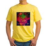 Mystic Skeletal Soul Yellow T-Shirt