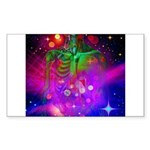 Mystic Skeletal Soul Sticker (Rectangle 10 pk)