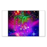 Mystic Skeletal Soul Sticker (Rectangle 50 pk)