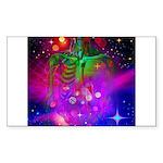 Mystic Skeletal Soul Sticker (Rectangle)