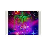 Mystic Skeletal Soul Rectangle Magnet (10 pack)