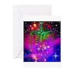 Mystic Skeletal Soul Greeting Cards (Pk of 20)