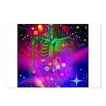 Mystic Skeletal Soul Postcards (Package of 8)