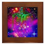 Mystic Skeletal Soul Framed Tile