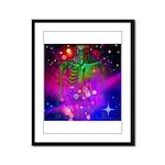 Mystic Skeletal Soul Framed Panel Print