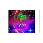 Mystic Skeletal Soul Mini Poster Print