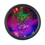 Mystic Skeletal Soul Large Wall Clock