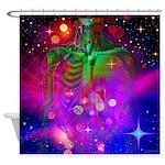 Mystic Skeletal Soul Shower Curtain