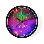 Mystic Skeletal Soul Wall Clock