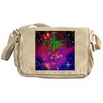 Mystic Skeletal Soul Messenger Bag
