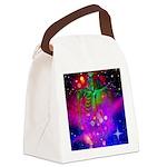 Mystic Skeletal Soul Canvas Lunch Bag
