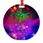 Mystic Skeletal Soul Round Ornament
