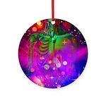 Mystic Skeletal Soul Ornament (Round)