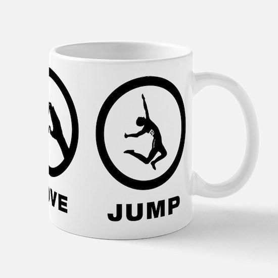 Long Jump Mug