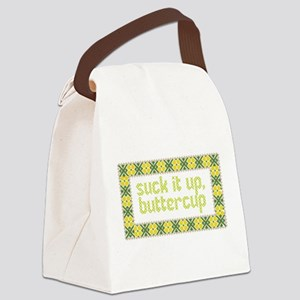 Suck it up, Canvas Lunch Bag