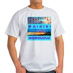 Waikiki Hawaii Sunsets Light T-Shirt