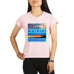 Waikiki Hawaii Sunsets Performance Dry T-Shirt