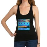 Waikiki Hawaii Sunsets Racerback Tank Top