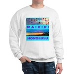Waikiki Hawaii Sunsets Sweatshirt