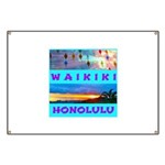 Waikiki Hawaii Sunsets Banner