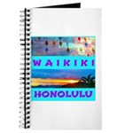 Waikiki Hawaii Sunsets Journal