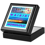 Waikiki Hawaii Sunsets Keepsake Box
