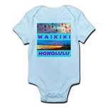 Waikiki Hawaii Sunsets Infant Bodysuit