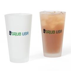 Grub USA 2 Drinking Glass