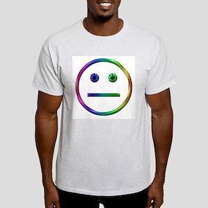 Free Range Aspie - Plain Ash Grey T-Shirt