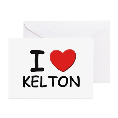 I love Kelton Greeting Cards (Pk of 10)