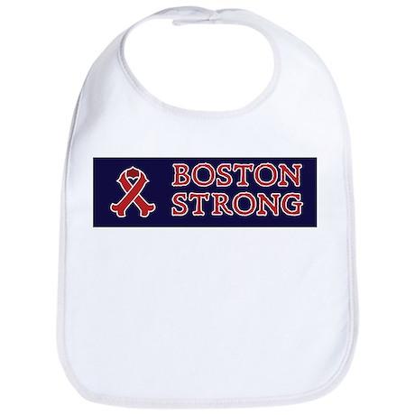 Boston Strong Ribbon Bib