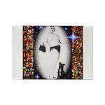 Drag Circa SisterFace 1991 Rectangle Magnet (100 p