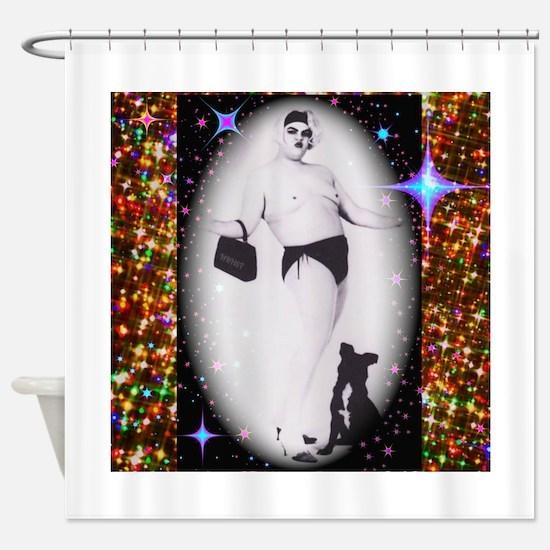 Drag Circa SisterFace 1991 Shower Curtain