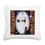 Drag Circa SisterFace 1991 Square Canvas Pillow